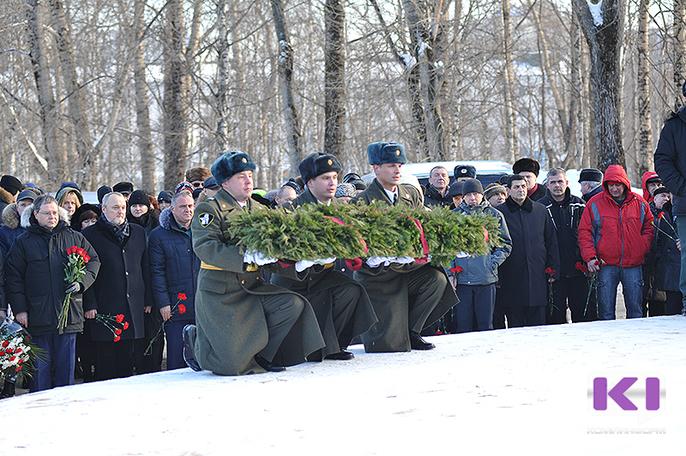 Ветераны боевых действий проведут митинг в центре Сыктывкара