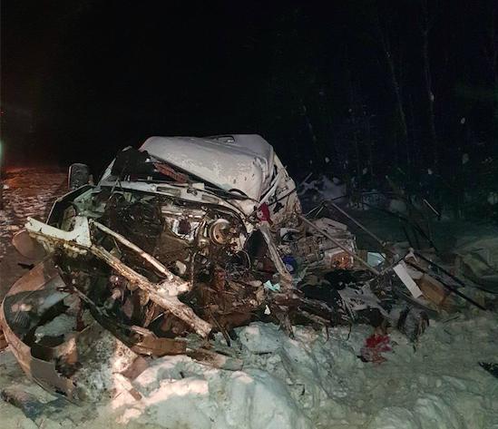 ВДТП савтобусом вКоми пострадали 12 человек