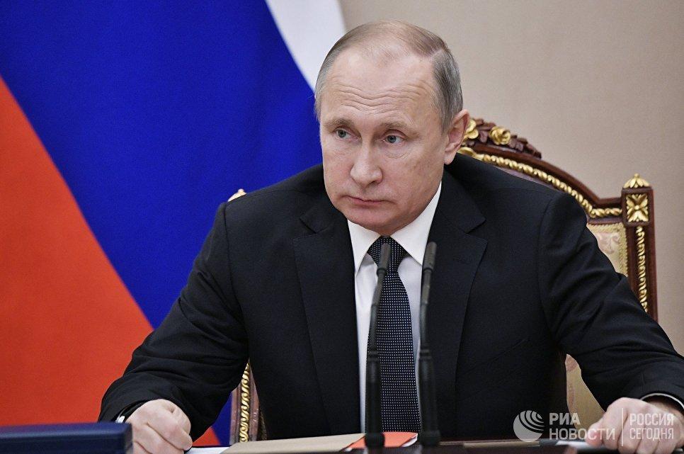 Инициативная группа выдвинула Путина кандидатом в президенты