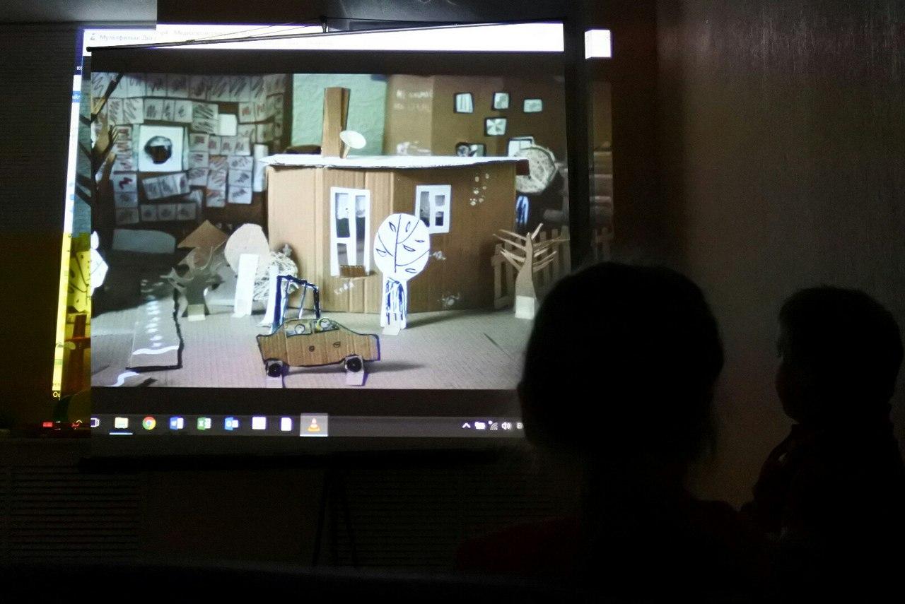 """Студия анимации """"Не сон"""" сняла первые мультфильмы на площадке """"Силы добра"""" в Сыктывкаре"""