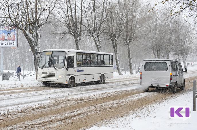 Жители Сыктывкара смогут воспользоваться автобусами в новогоднюю ночь