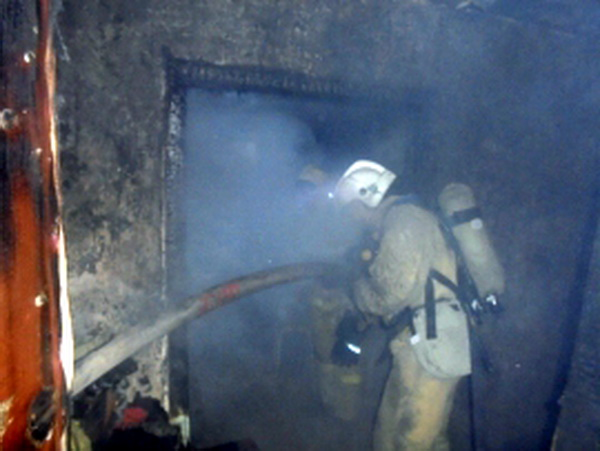 На пожаре в Вуктыле погибла женщина