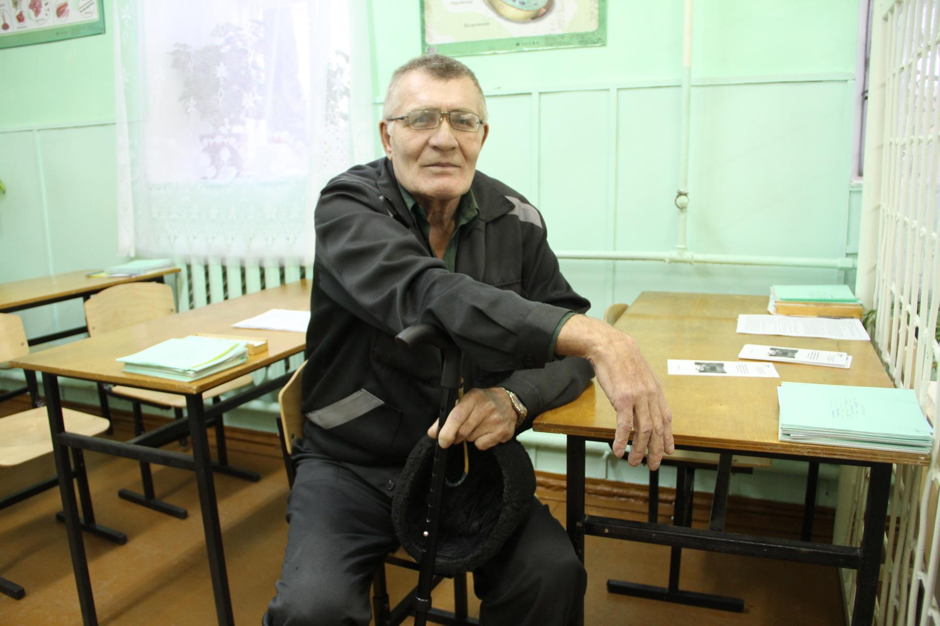 Осужденный ИК №1 Анатолий Сухогузов: