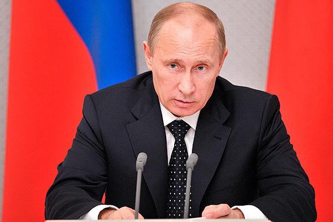 Президент России Владимир Путин поздравляет жителей  Коми с наступающим Новым годом и Рождеством