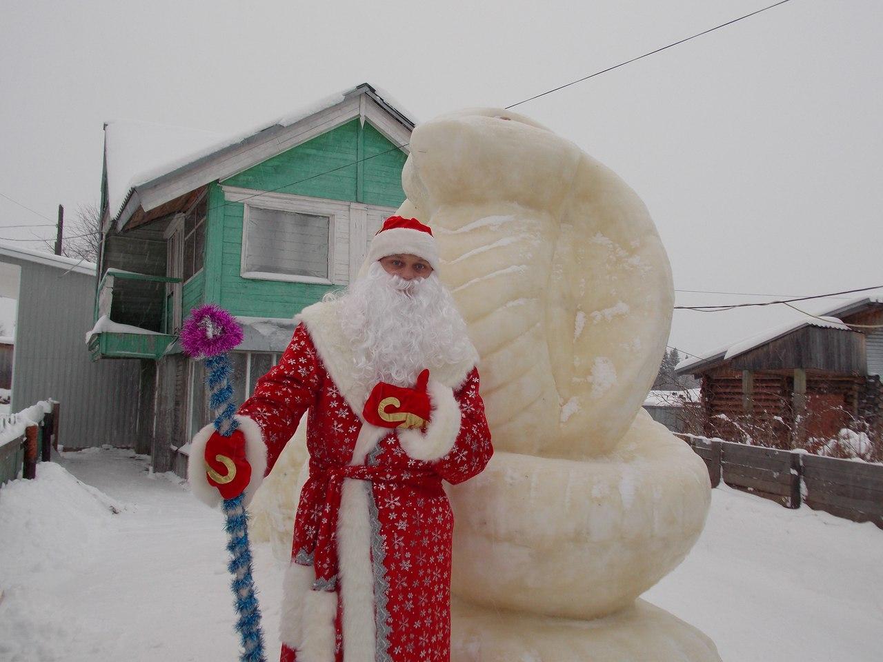 Житель Корткероса продал ружье и купил костюм Деда Мороза