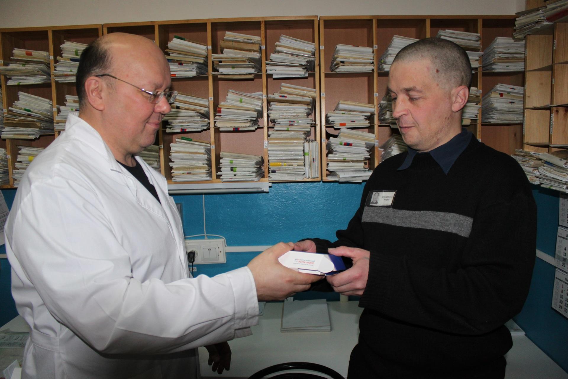 В ИК-1 осужденным из числа инвалидов выдали средства реабилитации