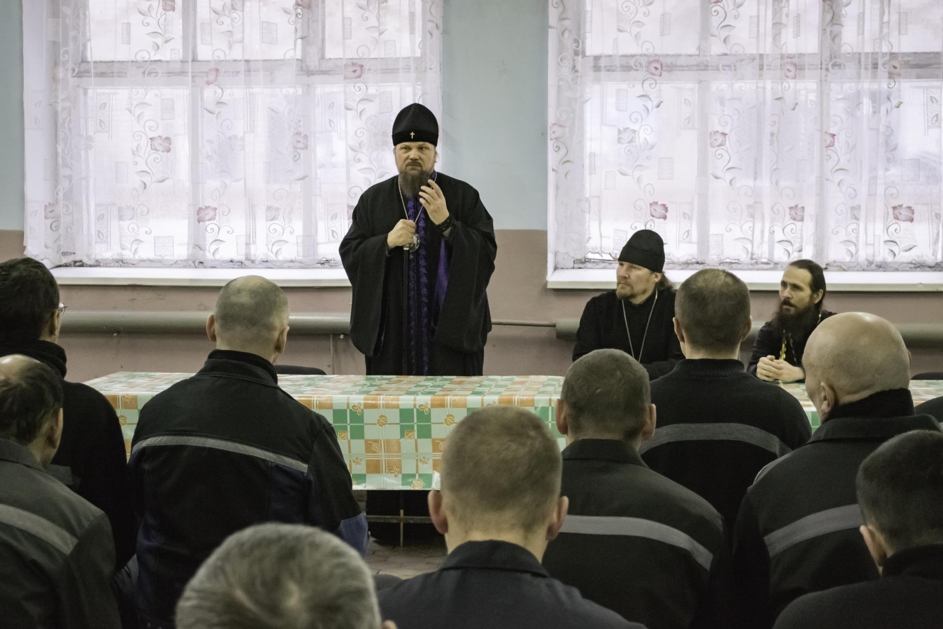 Архиепископ Сыктывкарский и Коми-Зырянский Питирим с визитом побывал в ИК-25