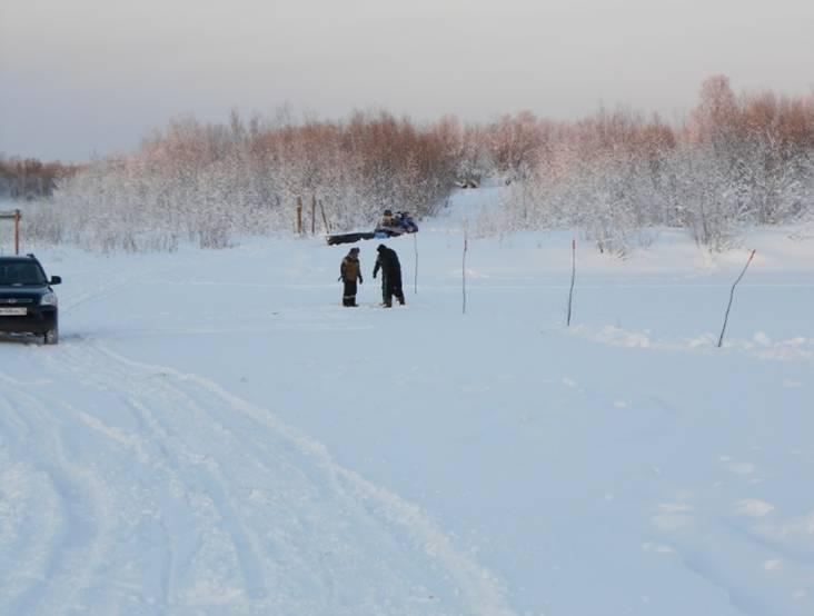 В Коми продолжают открываться ледовые переправы