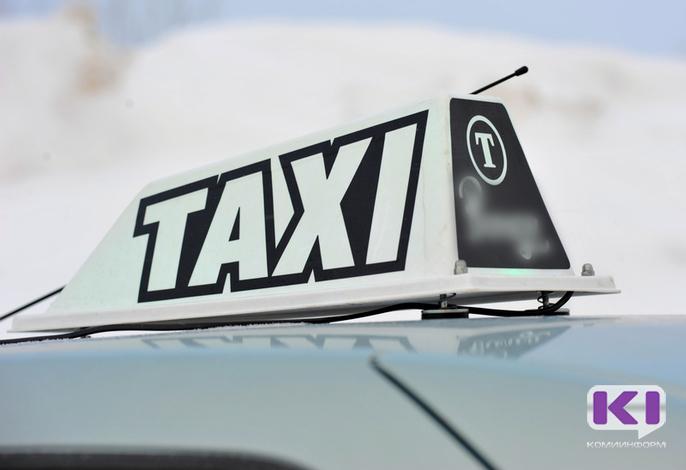 Сыктывкарские таксисты сидят без работы