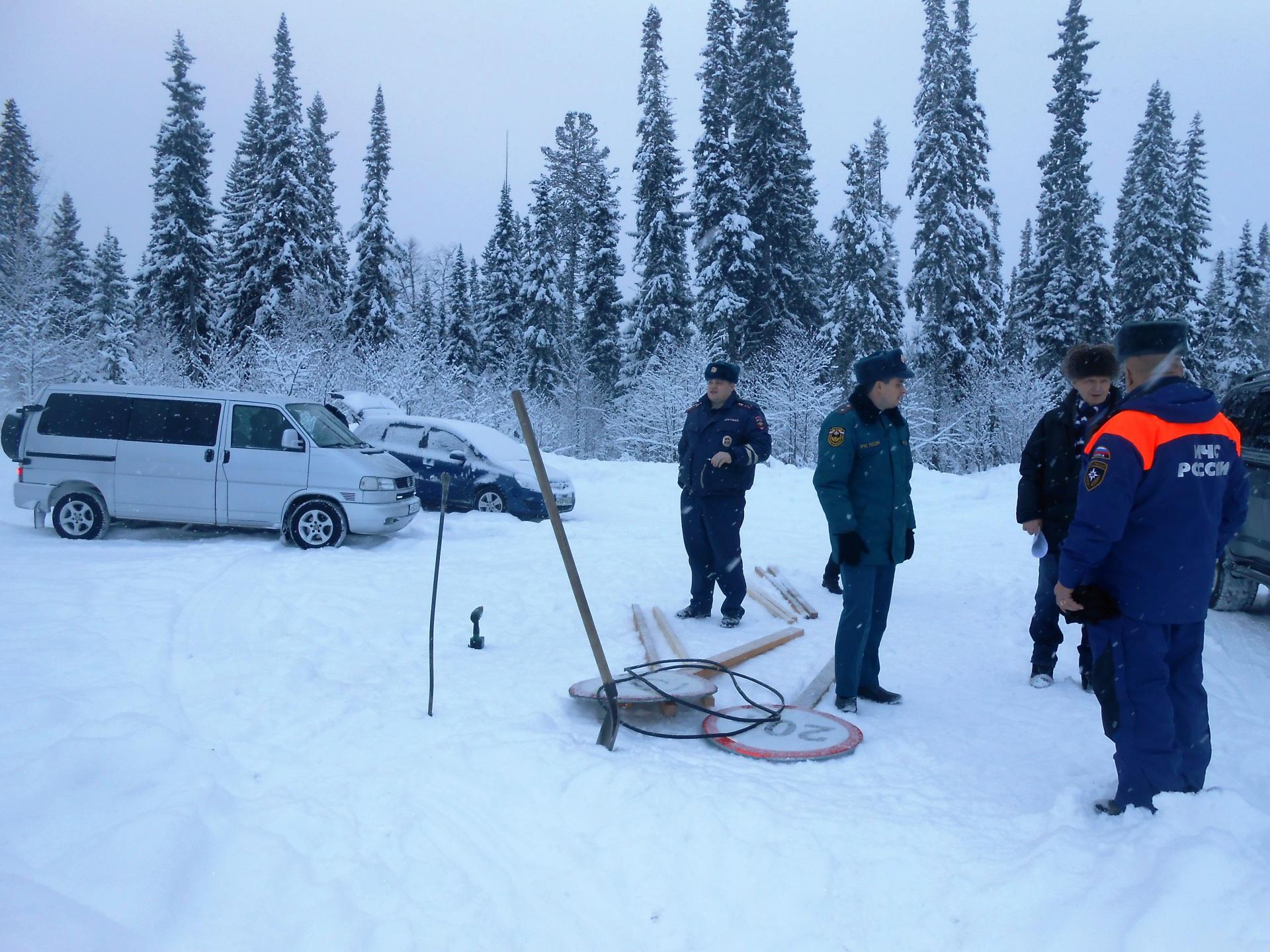 В Коми открыты еще три автомобильные ледовые переправы