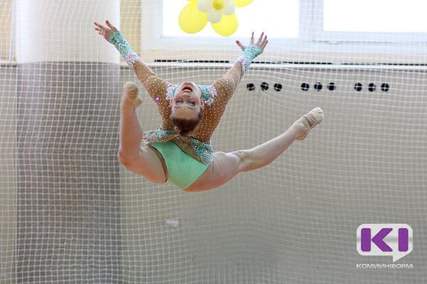 На Первенство СЗФО отправились 14 гимнасток из Коми