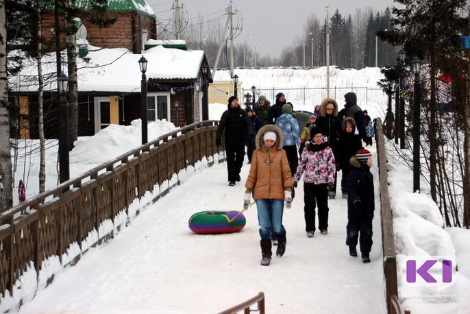 Финно-угорский этнопарк стал лидером по посещаемости в новогодние каникулы