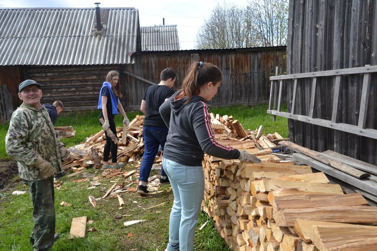 Волонтеры Сыктывдинского района предлагают землякам свои услуги