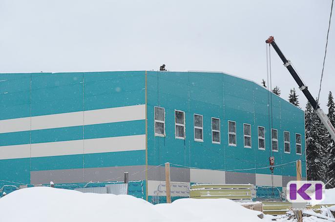 В Сосногорске стартовало голосование за название строящегося бассейна