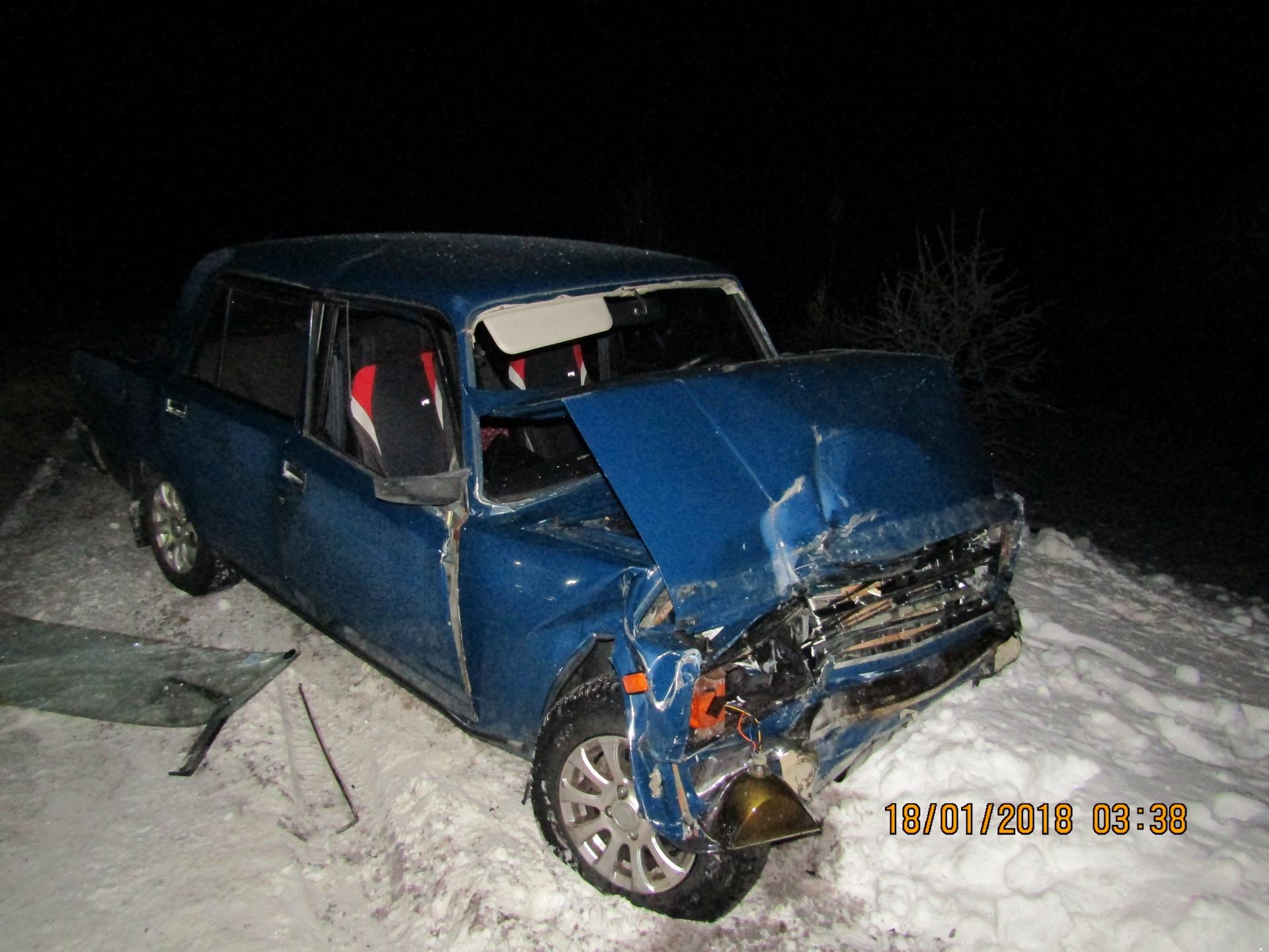 """Подробности смертельной аварии под Сосногорском: водитель Mitsubishi вылетел на """"встречку"""""""