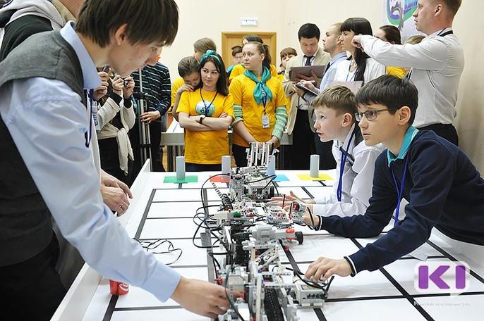 В трех городах Коми пройдут отборочные соревнования по робототехнике