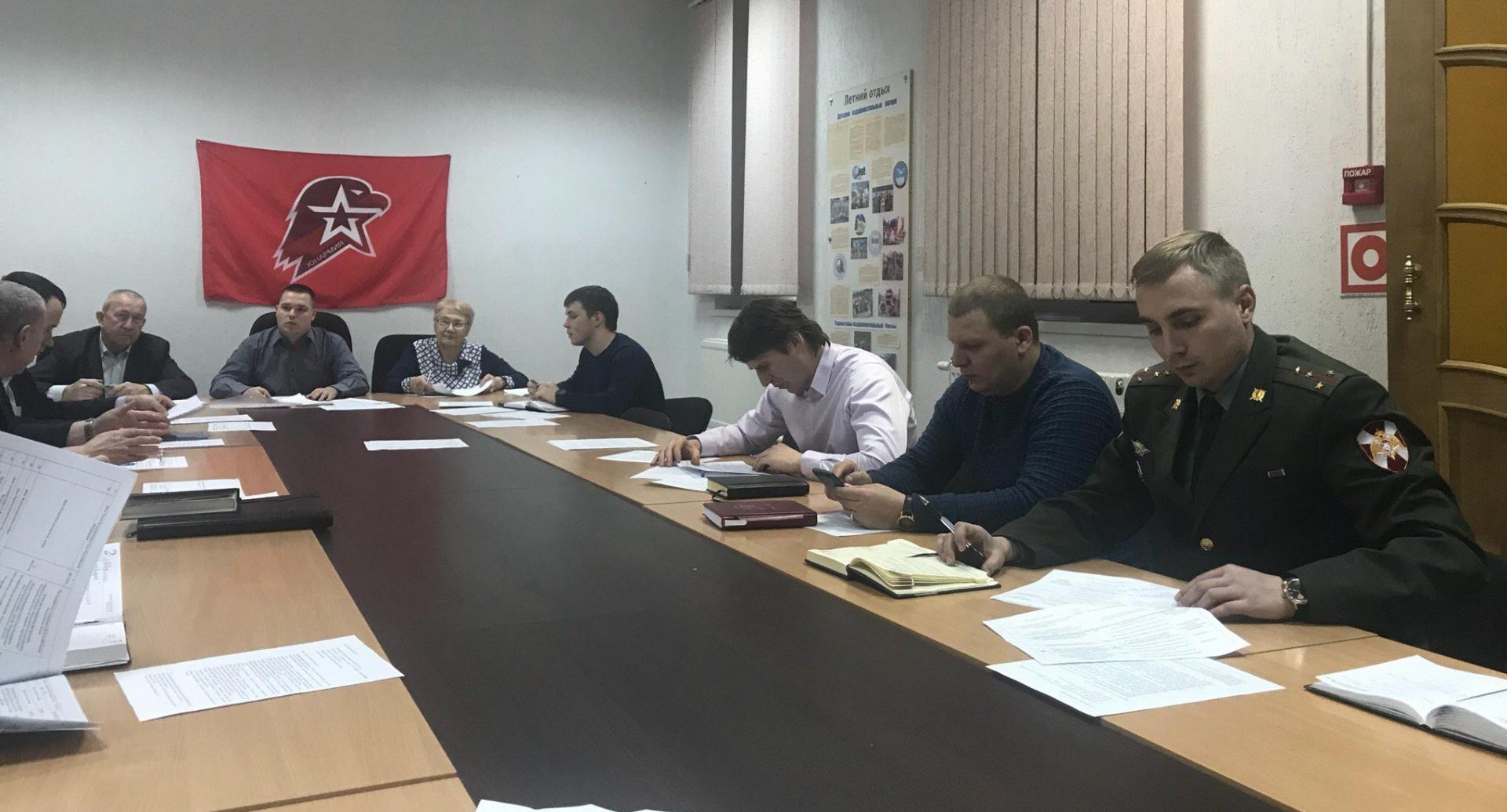 Штаб юнармейцев в Сыктывкаре подвел итоги работы за прошлый год