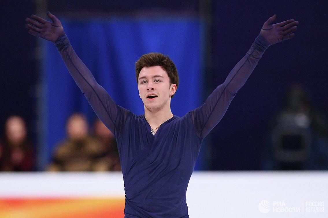Ухтинский фигурист Дмитрий Алиев завоевал