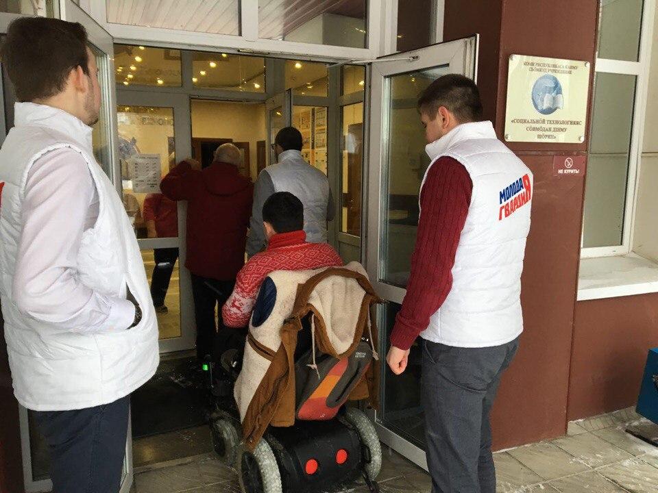 В Сыктывкаре проверили на доступность помещения для голосования на выборах-2018