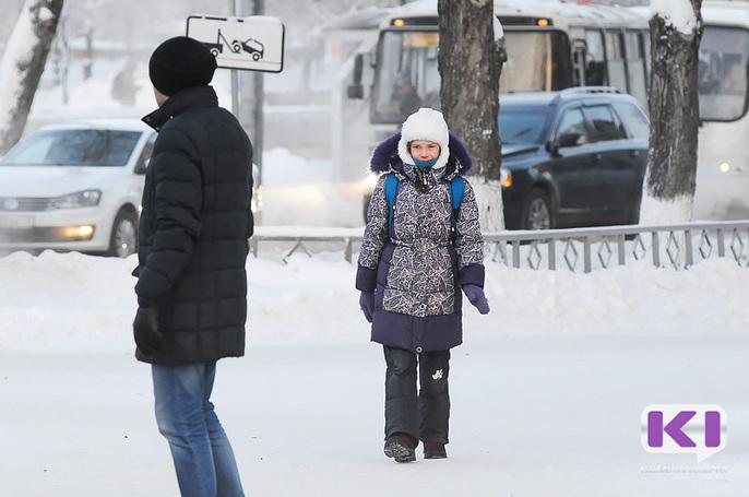 Сильный ветер снова не пустил воркутинских школьников на учебу