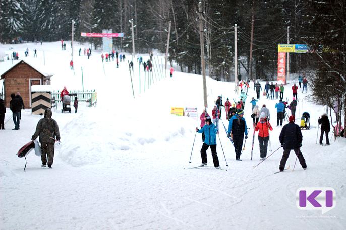 На сыктывкарской лыжной базе