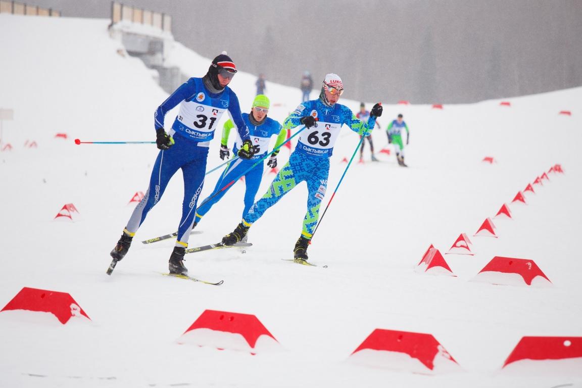 Сборная Коми стала первой в общекомандном зачете Чемпионата СЗФО по лыжным гонкам