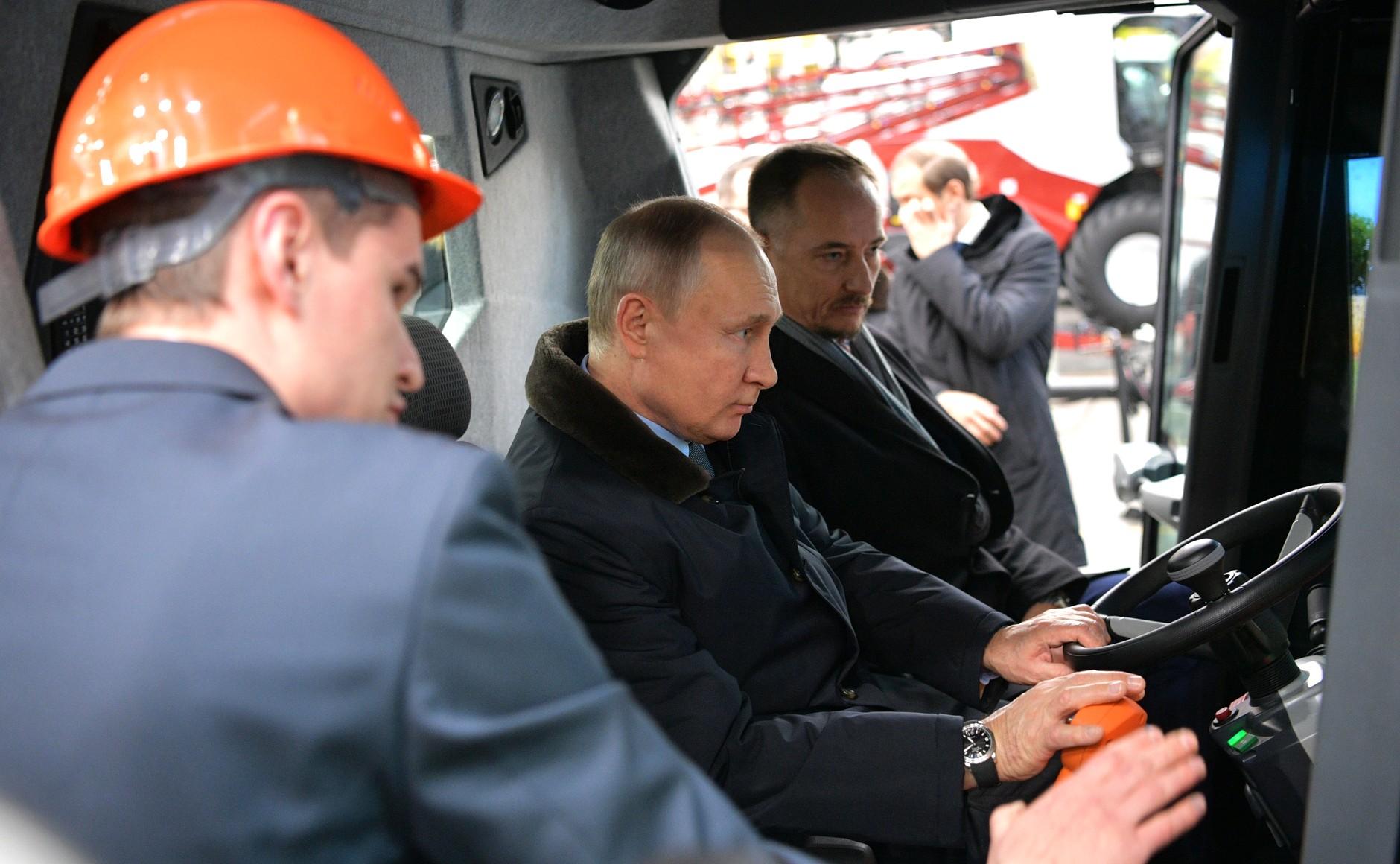 Владимир Путин поддержал предложения лидера