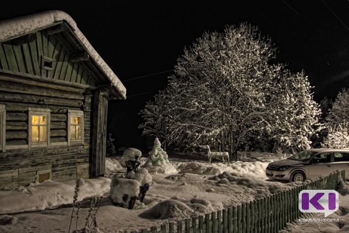 На неделе снегопады в Коми ослабнут, а морозы усилятся