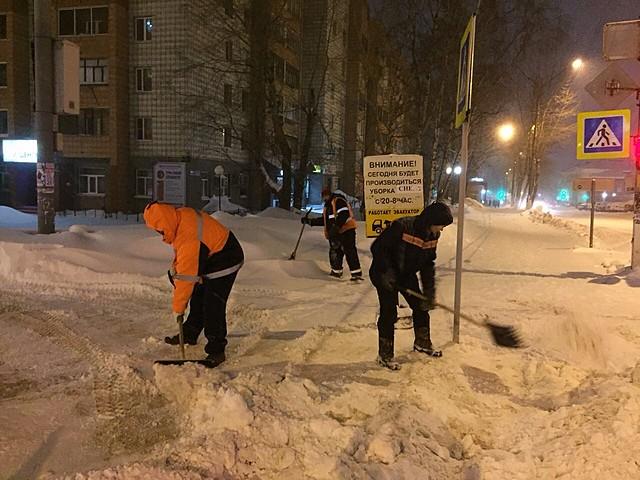 Коммунальные службы Сыктывкара переведены на усиленный режим работы