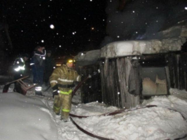 За сутки в Усть-Вымском районе Коми произошло два пожара