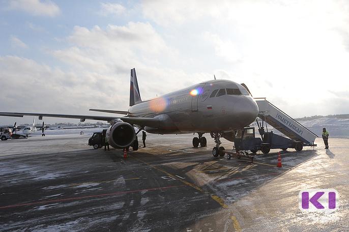 В сутки сыктывкарский аэропорт обслуживает от 25 до 30 авиарейсов