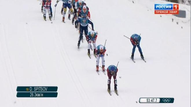 Лыжник из Коми Алексей Виценко стал 23-м на олимпийском скиатлоне