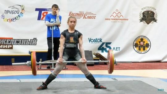 Маргарита Васильева выиграла Первенство России по пауэрлифтингу с рекордом России