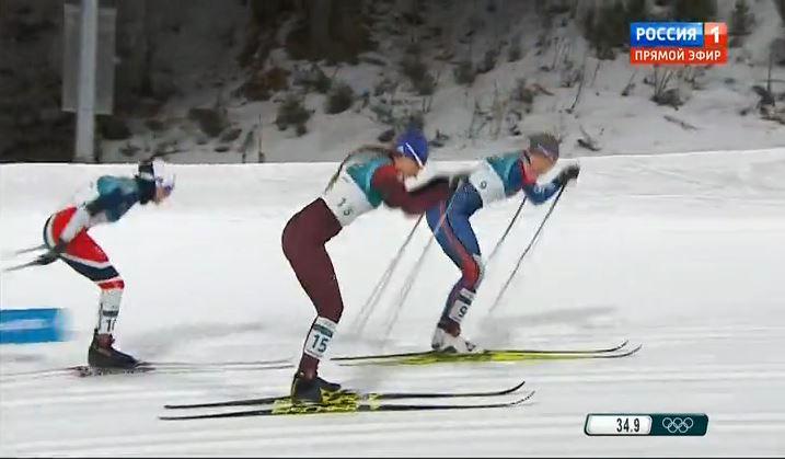 Юлия Белорукова вышла в полуфинал олимпийского лыжного спринта