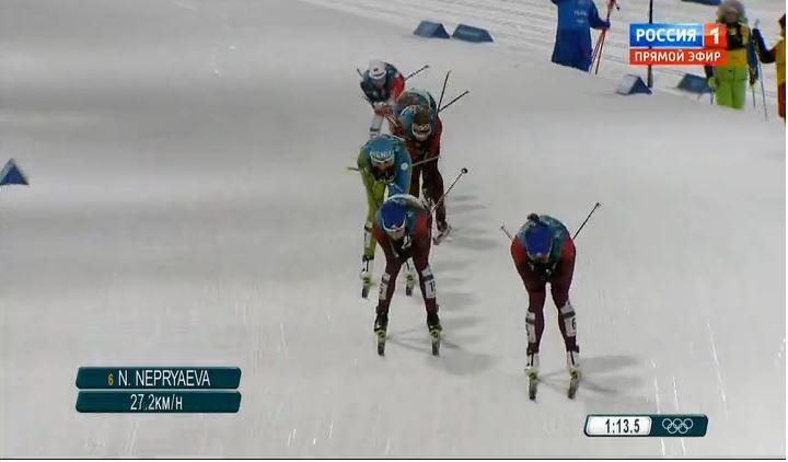 Юлия Белорукова вышла в финал олимпийского спринта