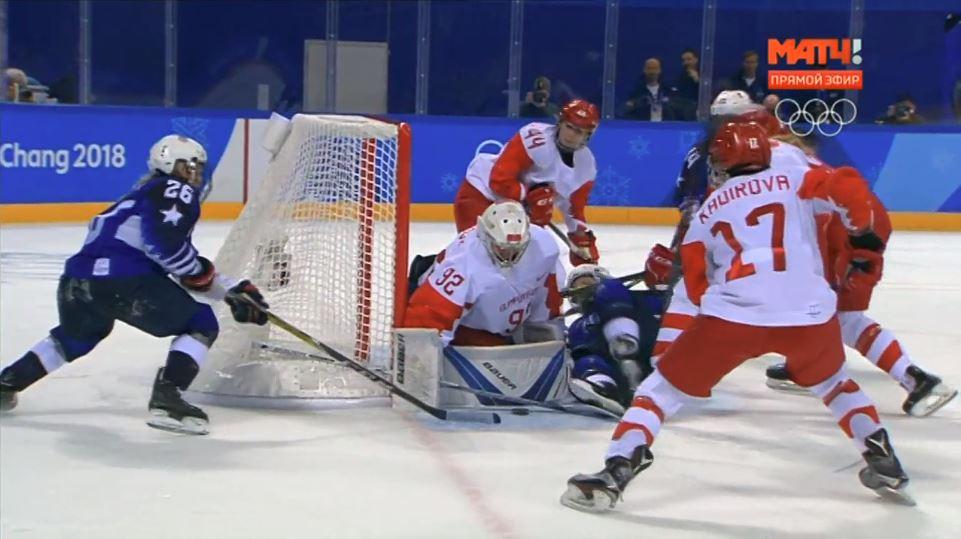 Ухтинские хоккеистки Лиана Ганеева и Фануза Кадирова в составе российской команды проиграли свой второй матч на Олимпиаде