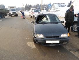 В Сыктывкаре под колеса авто попал 65-летний мужчина