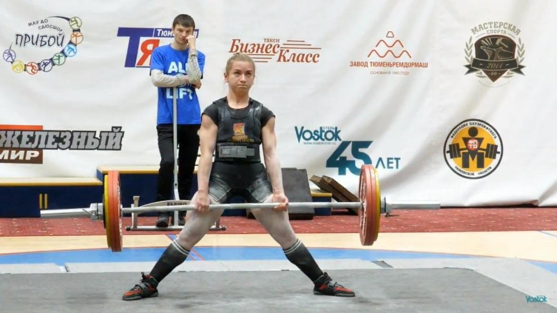 Сыктывкарка Маргарита Васильева установила рекорд России на Первенстве страны по паэурлифтингу