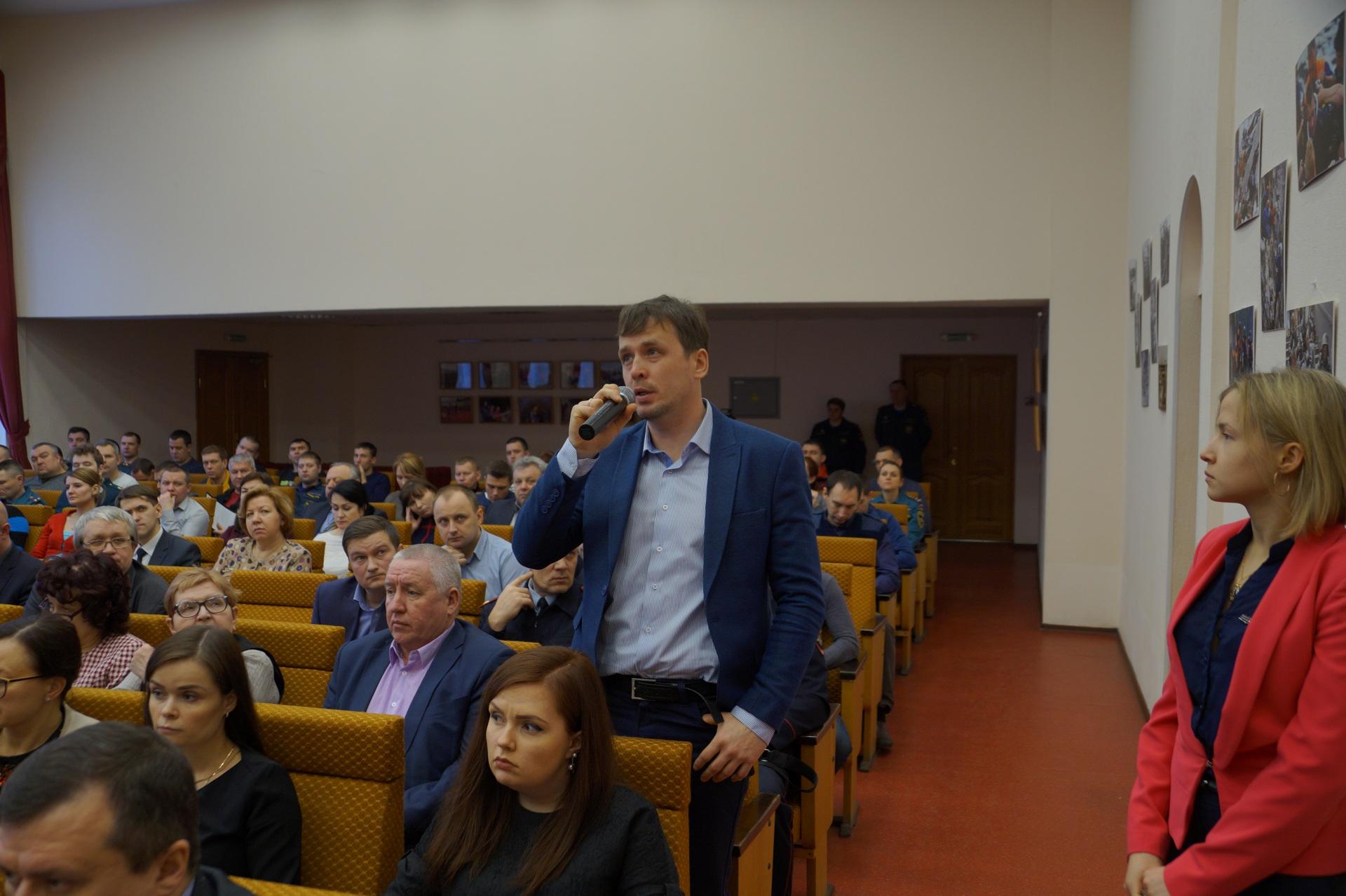 В  Сыктывкаре публично обсудили результаты деятельности МЧС по Коми