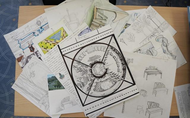 К конкурсу идей по благоустройству общественных территорий подключилась юные художники Эжвы