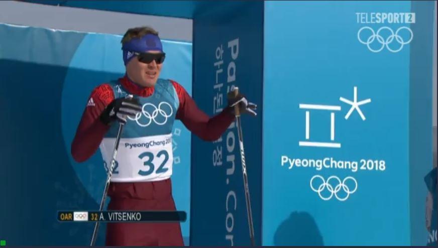 Лыжник из Коми Алексей Виценко финишировал 49-м в олимпийской гонке на 15 км