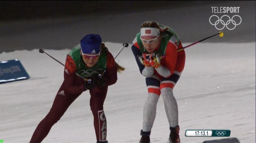 Русские лыжницы взяли «бронзу» вэстафете