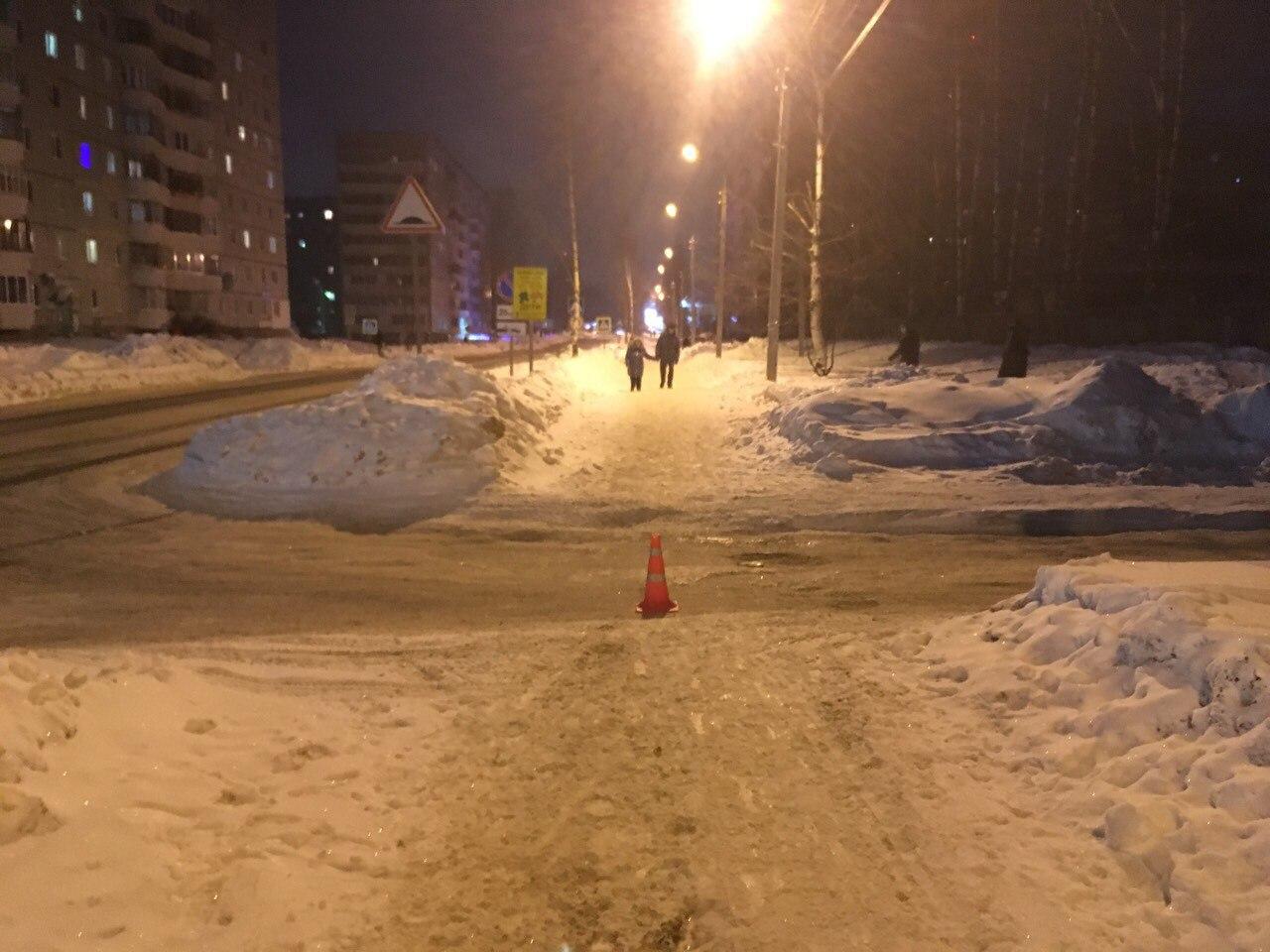 В Сыктывкаре водитель сбил 10-летнюю девочку и скрылся с места