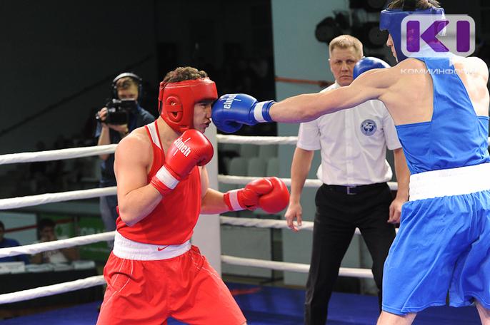 В Сыктывкаре определили сильнейших боксеров России среди юниоров