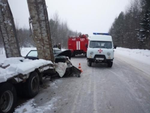 В Усть-Вымском районе произошло ДТП с тремя автомобилями