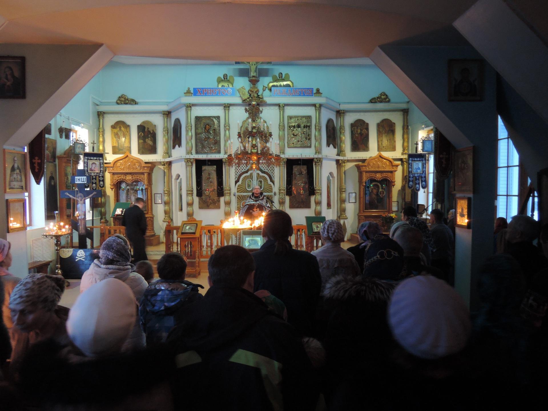 Православные Коми вступили в Великий пост
