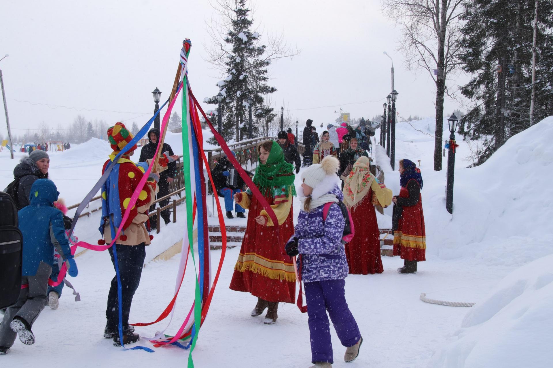 Русскую Масленицу в Финно-угорском этнопарке отметили с корейским акцентом