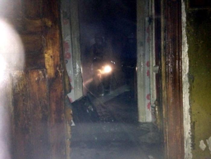 В Сосногорске на пожаре спасли пенсионера