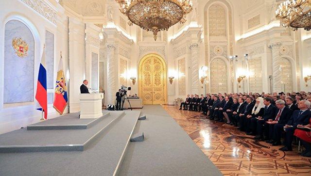Путин выступит с посланием Федеральному собранию 1 марта
