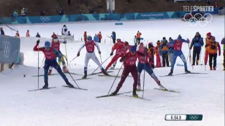 Американские лыжницы выиграли командный спринт наОлимпиаде вПхенчхане